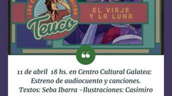 Seba Ibarra llega al Centro Cultural Galatea con el viaje y la luna
