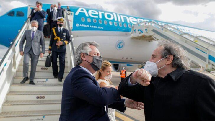 """Alberto hizo un balance """"claramente positivo"""" de su gira presidencia"""