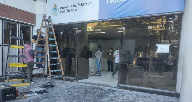 Algunas áreas de la Legislatura se reubicarán en un nuevo edificio