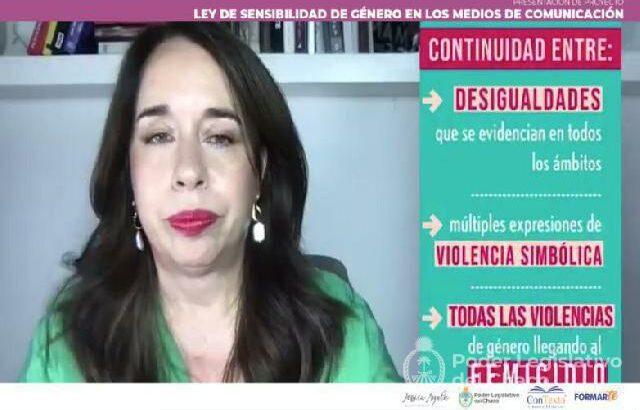 """Ayala con periodistas: """"Invito a ser parte de este proceso de deconstrucción que se plantea en el proyecto de ley"""""""