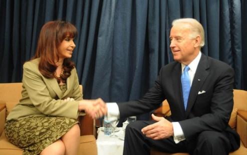"""Cristina Kirchner: """"sorpresas te da la vida"""", después de leer el discurso de Joe Biden 1"""