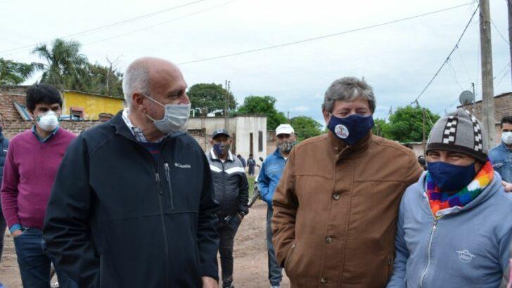 Directivos de Sameep constataron trabajos de saneamiento realizados en el barrio Toba