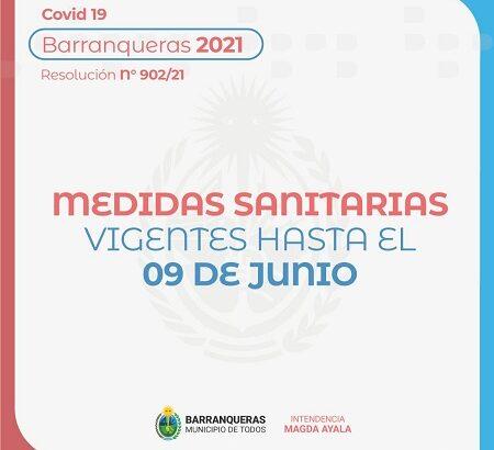El municipio de Barranqueras comunica las nuevas medidas adoptadas