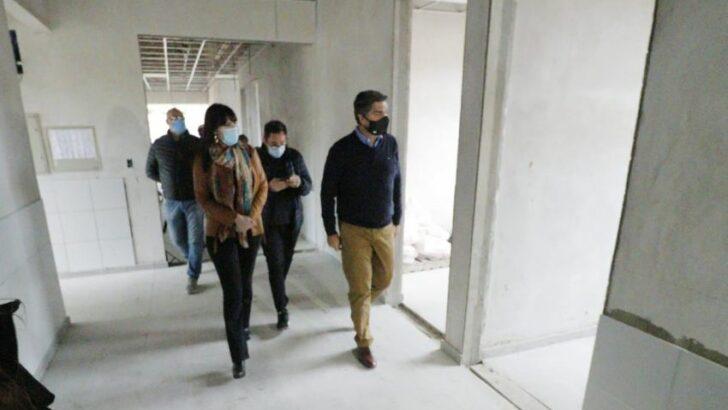 Fontana: avanzan con las obras del Centro de Salud, del Registro Civil y de la plazoleta