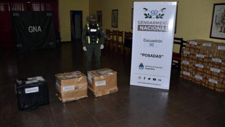 Narco encomienda en Posadas: Gendarmería secuestró 45 kilos de marihuana