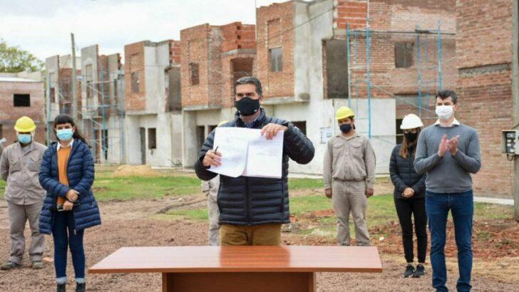 Reconstruir: Chaco adhirió al programa nacional para reactivar la construcción de casi 5 mil viviendas