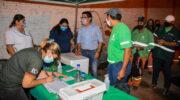 Resistencia: continúa con la campaña de vacunación antigripal para los trabajadores del área de Servicios