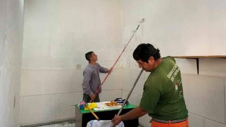 """Resistencia: ejecutan refacciones en la Escuela Especial N° 40, mediante el programa """"Esfuerzo Compartido"""""""