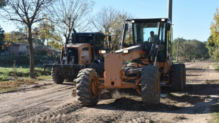 Resistencia: el Municipio continúa el plan de mantenimiento de calles no pavimentadas en barrios de la zona oeste
