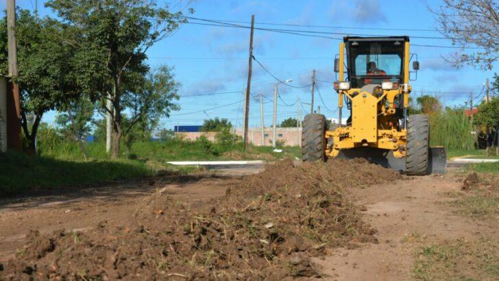 Resistencia: se iniciaron arreglos y mantenimiento de calles no pavimentadas en cuatro barrios de la capital chaqueña