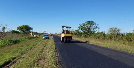 Vialidad Provincial finalizó la repavimentación de la Ruta nº 3, desde la 90 hasta establecimiento Don Panos
