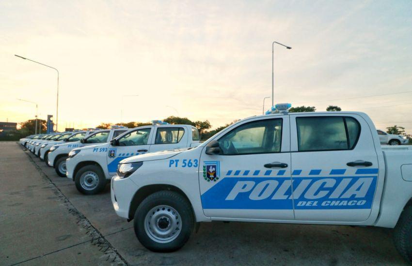 Aniversario de la Policía del Chaco: anunciaron mil ascensos, aumento salarial y entregaron 214 vehículos 3