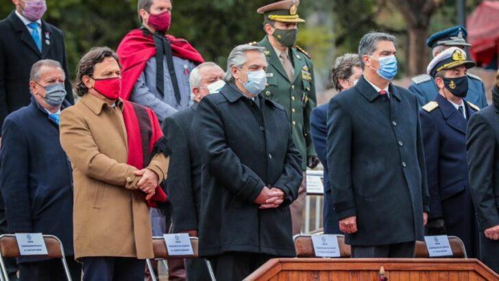 Bicentenario de la muerte del general Güemes: Capitanich participó de los homenajes en Salta