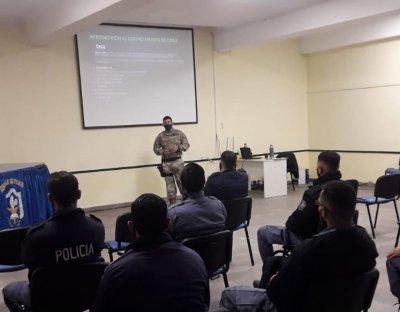 Formación policial: capacitaron en intervención de primeros respondedores