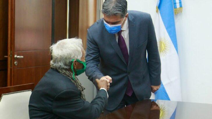 Capitanich recibió a la familia de Josué Lago y ratificó su compromiso para esclarecer los hechos