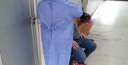 Castelli: habilitaron consultorio de febriles para atención de pacientes con síntomas de Covid 19 1