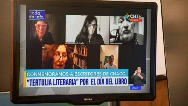 Celebraron el día del libro y del escritor