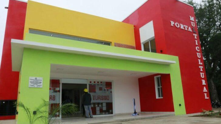 Colonia Elisa: inauguraron la Sala Cultural, mientras se avanza con más obras de infraestructura