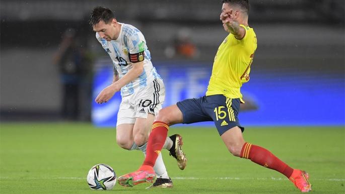 Eliminatorias Qatar 2022: Argentina se durmió y Colombia le arrebató un empate