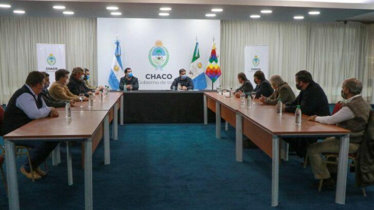 Entre la matriz exportadora y el abastecimiento interno, Capitanich dialogó con la Mesa de Enlace