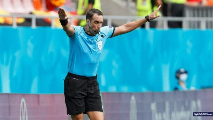 Eurocopa: Fernando Rapallini será el cuarto árbitro en el duelo Bélgica-Italia
