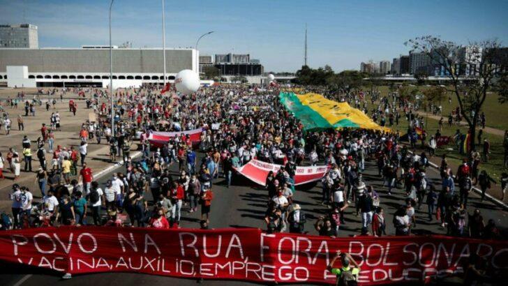 ¡Fora Bolsonaro!