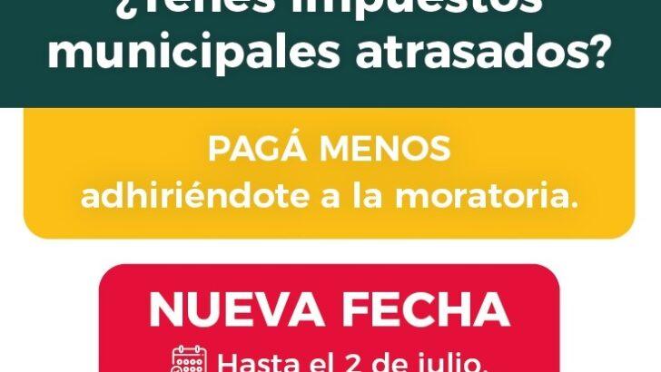 Hasta este viernes hay tiempo para adherirse a la moratoria municipal y acceder a los descuentos de intereses en Resistencia
