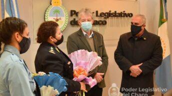 La Legislatura homenajeó a la Mujer Policía Chaqueña en su día