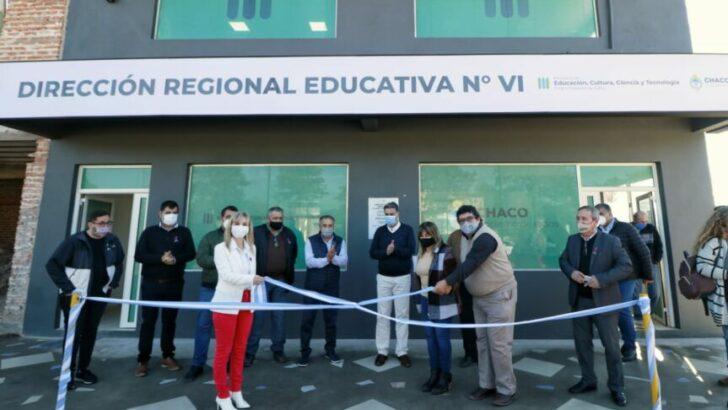 La Leonesa: Capitanich inauguró la sede de la Dirección Regional Educativa 6