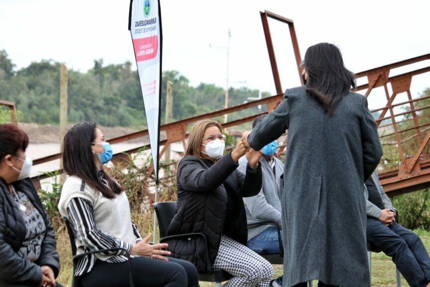 Magda Ayala oficializó un histórico pase a planta a 41 agentes municipales 2