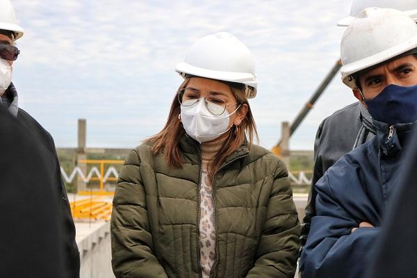Magda Ayala supervisó los trabajos en el segundo acueducto 3