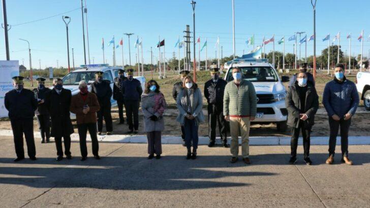 Barranqueras: Magda Ayala y Capitanich entregaron patrulleros y recorrieron varias obras en ejecución