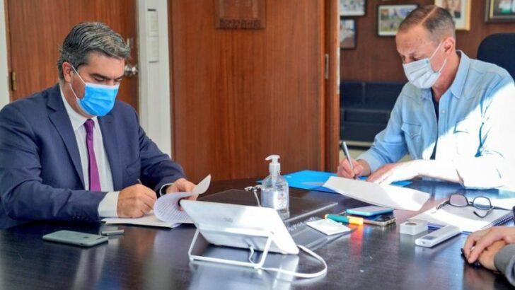 Nación y Provincia firmaron un acta acuerdo para obras en las rutas 6 y 9