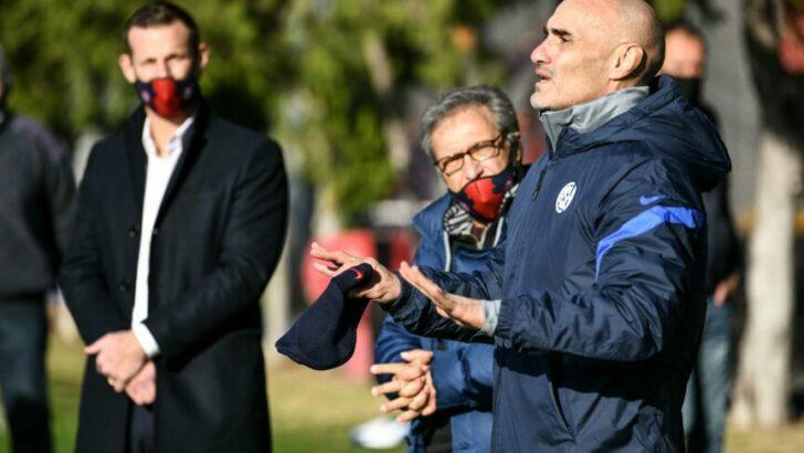 Paolo Montero es el nuevo técnico de San Lorenzo
