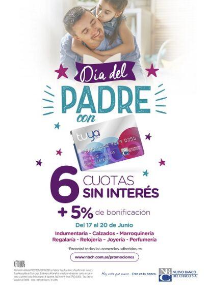 Promoción especial de Tarjeta Tuya para celebrar el Día del Padre 2