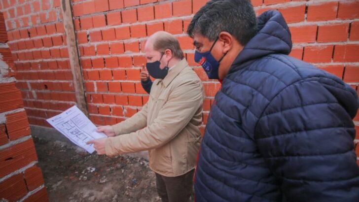 Puerto Vilelas: destacan el ritmo de construcción del nuevo edificio del Registro Civil