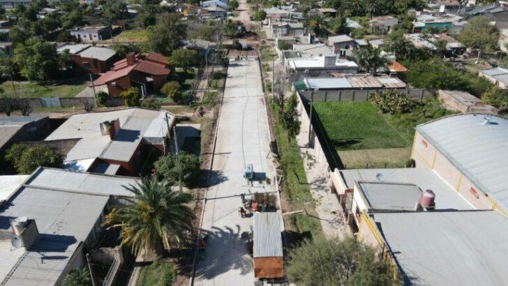 Quitilipi: Vialidad Provincial construye 34 nuevas cuadras de pavimento urbano