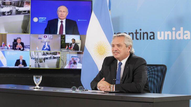 Sputnik V: Fernández y Putin anunciaron el inicio de la producción en Argentina