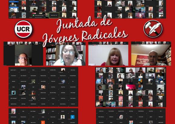 """UCR: los jóvenes radicales """"apuntalan el acuerdo intersectorial y político"""""""
