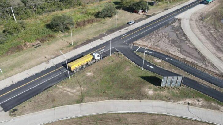 Vialidad Provincial avanza en el último tramo de la pavimentación de la Ruta 1