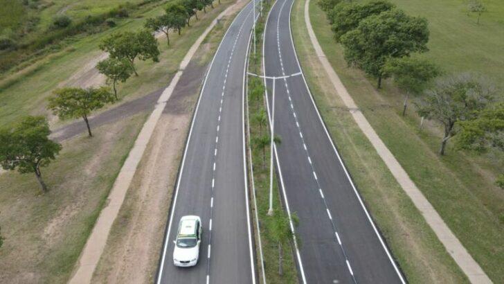 Vialidad Provincial finalizó la obra del acceso al aeropuerto de Resistencia
