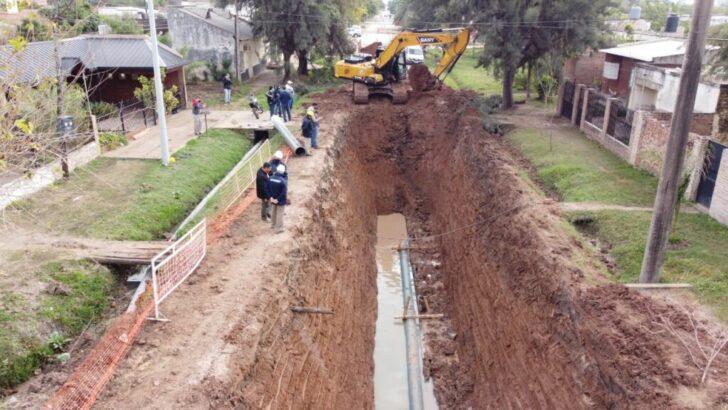Villa Ángela: Sameep trabaja para refuncionalizar la red cloacal