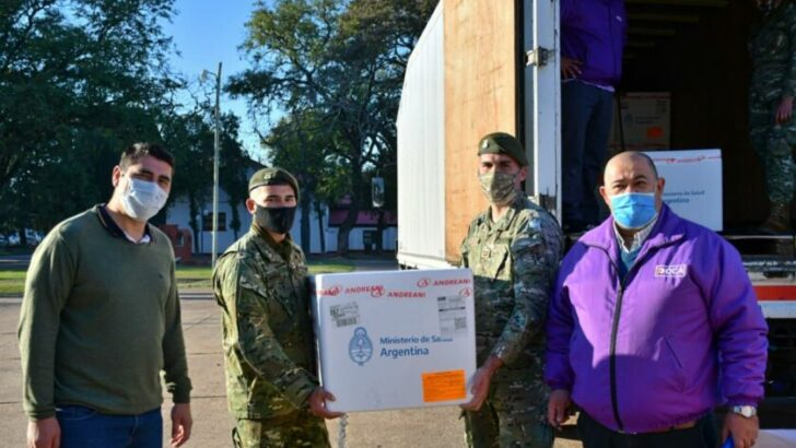 Campaña de Vacunación: Chaco recibió 41.600 dosis de Sinopharm