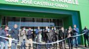 Castelli: inauguraron el moderno Microestadio, epicentro del deporte en el norte chaqueño