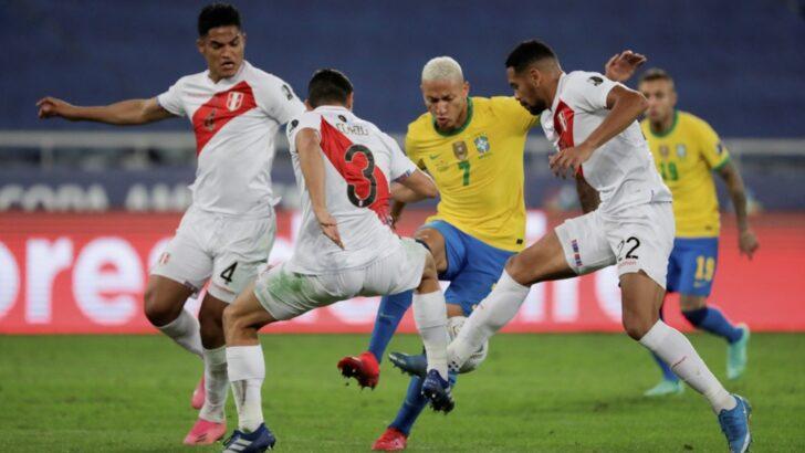 Copa América: a duras penas, Brasil derrotó a Perú y es el primer finalista