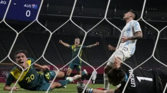 Debut con derrota de Argentina en los JJOO