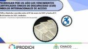 Discapacidad: se prorrogan por un año los vencimientos de certificados y símbolos internacionales