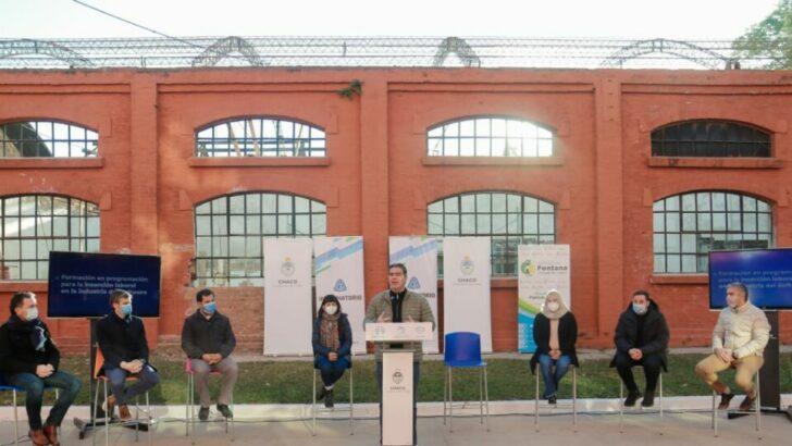 En Fontana, Capitanich lanzó nueva convocatoria del Informatorio Chaco y supervisó las obras del Polo Tecnológico