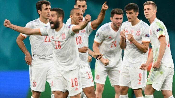 España semifinalista de la Eurocopa