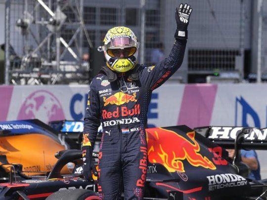 F1: tercera «pole position» consecutiva para Verstappen
